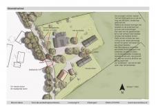 <h5>Landschappelijke inpassing Beltrum</h5><p>Plankaart (onderdeel van rapport), landschapsplan ten behoeve van functieverandering in het kader van de Rood voor Rood regeling in de gemeente Berkelland.</p>