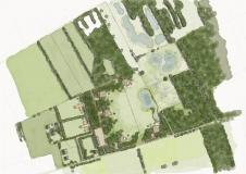 <h5>Functieverandering Neede</h5><p>functieverandering in het kader van de Rood voor Rood regeling in de gemeente Berkelland. Varkensstallen worden gesloopt hiervoor worden twee nieuwe woningen gebouwd.  Daarnaast omvat het plan de bouw  van 5 recreatiewoningen (groepsaccommodaties)  in combinatie met omvorming van agrarische grond naar nieuwe natuur . Het geheel vindt plaats binnen de landschappelijke kaders van het jong heideontginningslandschap.</p>