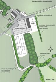 <h5>Maatlat duurzame veehouderij</h5><p>Plankaart (onderdeel van rapport) beplantingsplan in het kader van de Maatlat Duurzame Veehouderij  in de gemeente Deventer.</p>