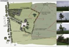 <h5>Rood voor Rood Lichtenvoorde</h5><p>Plankaart (onderdeel van rapport) landschapsplan ten behoeve van functieverandering in het kader van de Rood voor Rood regeling in de gemeente Oost Gelre.</p>