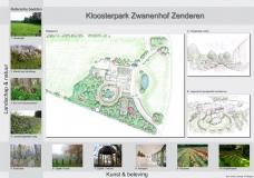 <h5>Presentatiepaneel </h5><p>Zwanenhof Zenderen.</p>